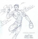 Nathanael as Ironman